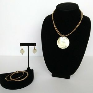 Cookie Lee Gold-tone Jewelry Set